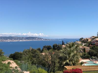 Théoule sur Mer (Alpes Maritimes), à vendre appartement vue mer, terrasse, grand garage box, terrasse