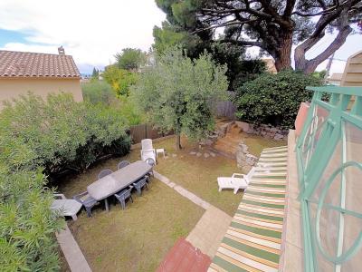 Cannes (Alpes Maritimes) à vendre villa 114 m², 4 chambres, jardin 110m2, garage, secteur Petit Juas, extérieurs