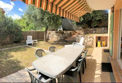 Cannes (Alpes Maritimes) à vendre villa 114 m², 4 chambres, jardin 110m2, garage, secteur Petit Juas, terrasse