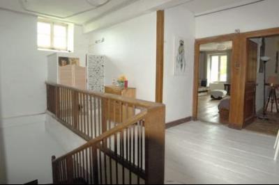 LONS LE SAUNIER (39, Jura), à vendre grande maison de caractère 186 m² avec 4 chambres., palier étage