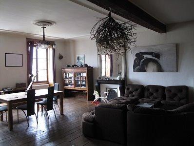 LONS LE SAUNIER (39, Jura), à vendre grande maison de caractère 186 m² avec 4 chambres., salon 43 m²