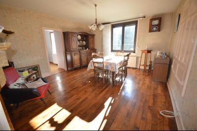 Clairvaux les lacs à 2 min, maison 102 m² habitables avec 3 chambres et terrain clos de 440 m²., Séjour 23 m²