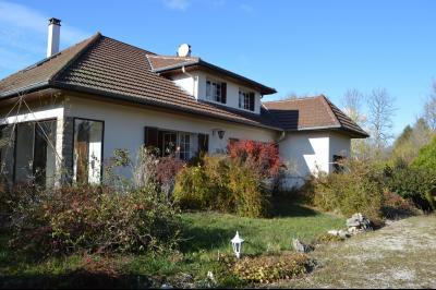 CLAIRVAUX-LES-LACS (JURA), Région des lacs, à vendre belle maison avec piscine interieure., La maison le long d