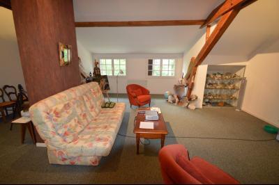 CLAIRVAUX-LES-LACS (JURA), Région des lacs, à vendre belle maison avec piscine interieure., Grande pièce salon