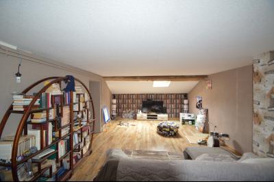 Proche de Clairvaux les lacs, Grand maison individuelle 4 chambres, avec beau terrain constructible., Salon tv 25 m²