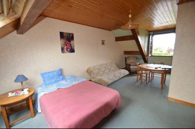 Clairvaux-les-Lacs, à vendre maison 120 m² habitables 3 chambres, dont 2 de plain pied., chambre à l