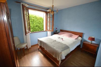 Clairvaux-les-Lacs, à vendre maison 120 m² habitables 3 chambres, dont 2 de plain pied., chambre de plein pied