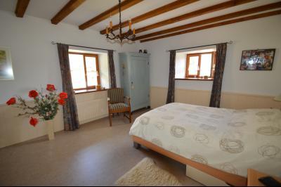 Clairvaux les lacs, ferme rénovée très chaleureuse avec un magnifique jardin, piscine, 4 chambres., chambre 17 m²