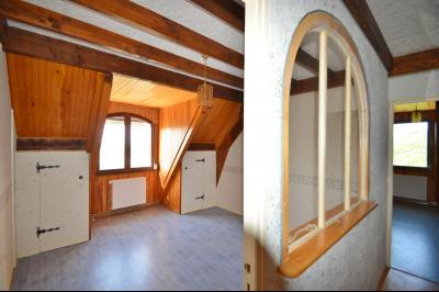Clairvaux les lacs (JURA) vends Maison rénovée avec vue exceptionnelle sur lacs et relief jurassien., Chambre étage vue lac