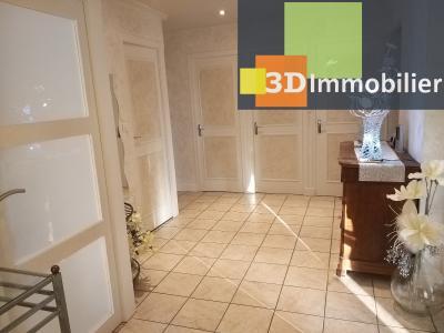 LONS-LE-SAUNIER (39 JURA), à vendre maison individuelle 136 m², piscine, four à pain, parc 5344 m², CHAMBRE 4