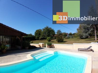 LONS-LE-SAUNIER (39 JURA), à vendre maison individuelle 136 m², piscine, four à pain, parc 5344 m²,