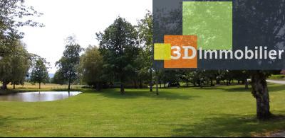 LONS-LE-SAUNIER (39 JURA), à vendre maison individuelle 136 m², piscine, four à pain, parc 5344 m², PARC ET ETANG PRIVE