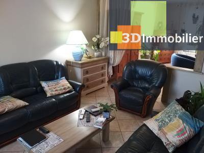 LONS-LE-SAUNIER (39 JURA), à vendre maison individuelle 136 m², piscine, four à pain, parc 5344 m², SALON