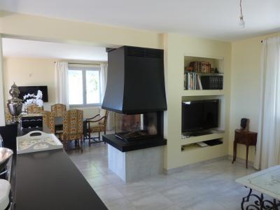 Clairvaux les lacs (39 JURA), à vendre maison rénovée 340 m², parc de 2700 m² avec vue sur le lac, Cheminée insert 3 faces