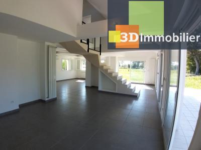 LONS-LE-SAUNIER (39 JURA), Courlaoux, vends maison individuelle moderne, 165 m², 3004 m2 de terrain., SALON