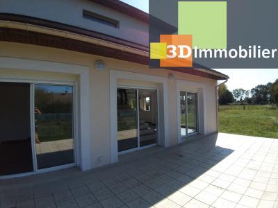 LONS-LE-SAUNIER (39 JURA), Courlaoux, vends maison individuelle moderne, 165 m², 3004 m2 de terrain., TERRASSE