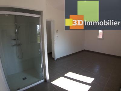 LONS-LE-SAUNIER (39 JURA), Courlaoux, vends maison individuelle moderne, 165 m², 3004 m2 de terrain., CHAMBRE 1 AVEC DOUCHE