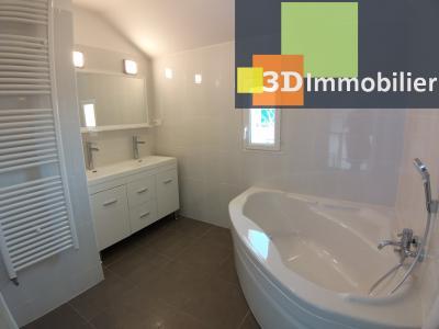 LONS-LE-SAUNIER (39 JURA), Courlaoux, vends maison individuelle moderne, 165 m², 3004 m2 de terrain., SALLE DE BAIN