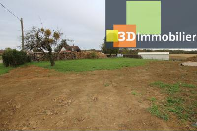 Secteur SAVIGNY-EN-REVERMONT (71 SAONE ET LOIRE), à vendre terrain constructible de 1233 m².,