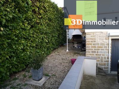 LONS-LE-SAUNIER (39 JURA), CENTRE-VILLE à vendre maison individuelle rénovée 110m², 6 pièces, jardin, BARBECUE