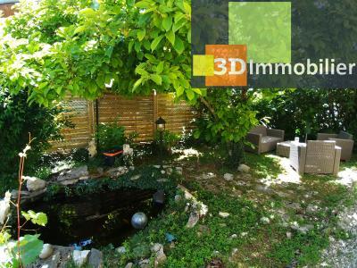 LONS-LE-SAUNIER (39 JURA), CENTRE-VILLE à vendre maison individuelle rénovée 110m², 6 pièces, jardin, JARDIN