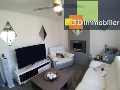 LONS-LE-SAUNIER (39 JURA), CENTRE-VILLE à vendre maison individuelle rénovée 110m², 6 pièces, jardin, SALON