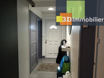 LONS-LE-SAUNIER (39 JURA), CENTRE-VILLE à vendre maison individuelle rénovée 110m², 6 pièces, jardin, HALL D