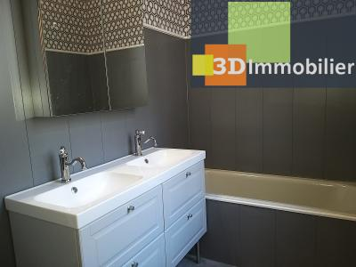 LONS-LE-SAUNIER (39 JURA), CENTRE-VILLE à vendre magnifique appartement de 120 m², 3 chambres., SALLE DE BAIN