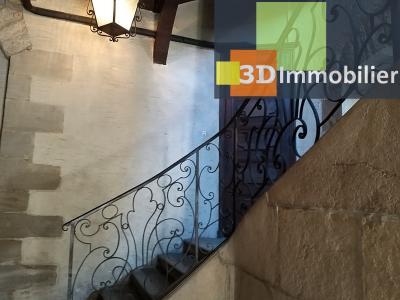 LONS-LE-SAUNIER (39 JURA), CENTRE-VILLE à vendre magnifique appartement de 120 m², 3 chambres., COMMUNS