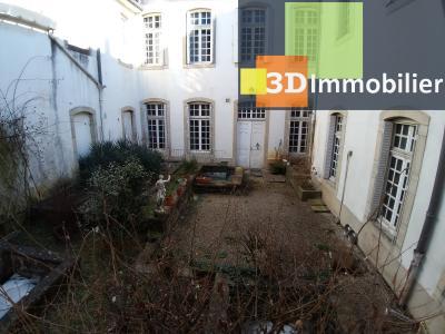 LONS-LE-SAUNIER (39 JURA), CENTRE-VILLE à vendre magnifique appartement de 120 m², 3 chambres., VUE COUR COMMUNE