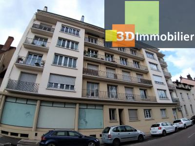 LONS-LE-SAUNIER (39 JURA), à vendre appartement centre-ville, 2 chambres, 65 m2, refais à neuf., VUE DEGAGEE