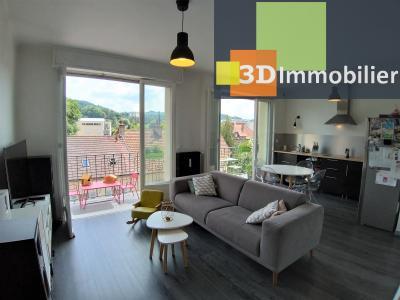 LONS-LE-SAUNIER (39 JURA), à vendre appartement centre-ville, 2 chambres, 65 m2, refais à neuf.,