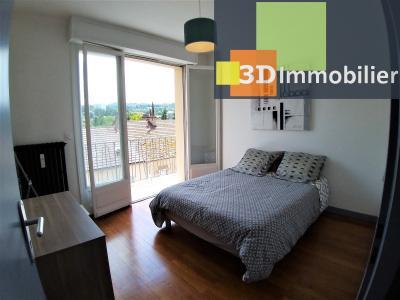 LONS-LE-SAUNIER (39 JURA), à vendre appartement centre-ville, 2 chambres, 65 m2, refais à neuf., CUISINE EQUIPEE