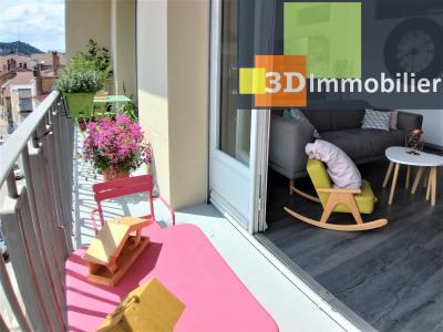 LONS-LE-SAUNIER (39 JURA), à vendre appartement centre-ville, 2 chambres, 65 m2, refais à neuf., CHAMBRE 2