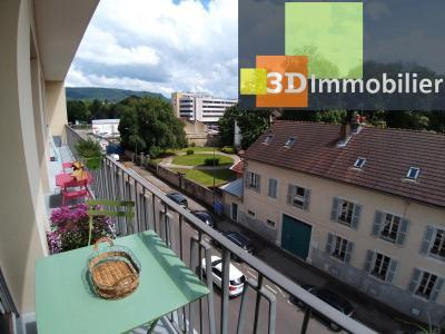 LONS-LE-SAUNIER (39 JURA), à vendre appartement centre-ville, 2 chambres, 65 m2, refais à neuf., SALLE DE DOUCHE