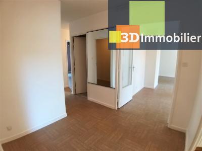 LONS-LE-SAUNIER (39 JURA), à vendre appartement avec terrasse, 3 chambres, 89 m², garage, lumineux, HALL D