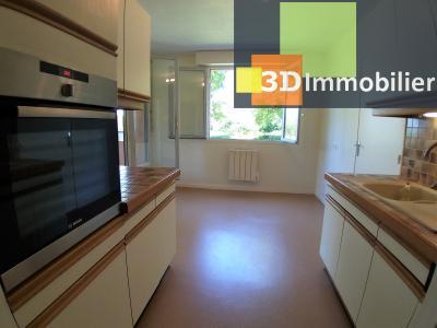 LONS-LE-SAUNIER (39 JURA), à vendre appartement avec terrasse, 3 chambres, 89 m², garage, lumineux, CUISINE
