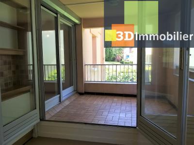 LONS-LE-SAUNIER (39 JURA), à vendre appartement avec terrasse, 3 chambres, 89 m², garage, lumineux, TERRASSE