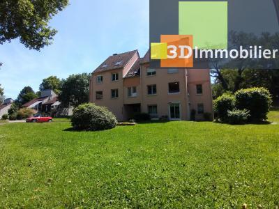 LONS-LE-SAUNIER (39 JURA), à vendre appartement avec terrasse, 3 chambres, 89 m², garage, lumineux, RESIDENCE