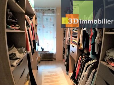 LONS-LE-SAUNIER (39 JURA) centre-ville, à vendre appartement duplex rénové 200 m², 4 chambres calme, DRESSING