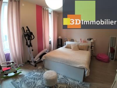 LONS-LE-SAUNIER (39 JURA) centre-ville, à vendre appartement duplex rénové 200 m², 4 chambres calme, SUITE PARENTALE