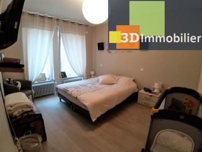 LONS-LE-SAUNIER (39 JURA) centre-ville, à vendre appartement duplex rénové 200 m², 4 chambres calme, CHMABRE 2