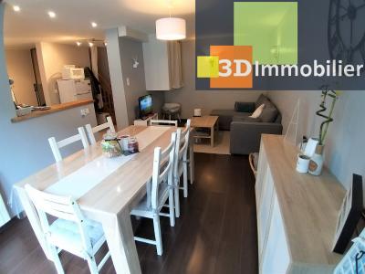 Secteur GEVINGEY (JURA), à vendre maison de 45 m², 1 CH, idéal location touristique, investisseurs., SALLE A MANGER