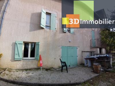 BEAUFORT (39 JURA), à vendre immeuble de 4 duplexes avec garages et extérieurs., TERRASSE ARRIERE APPART 2
