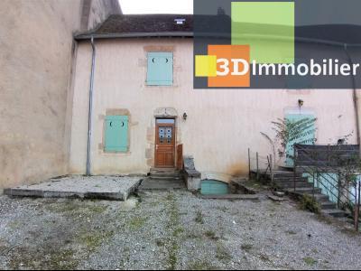 BEAUFORT (39 JURA), à vendre immeuble de 4 duplexes avec garages et extérieurs., ENTREE APPART 1