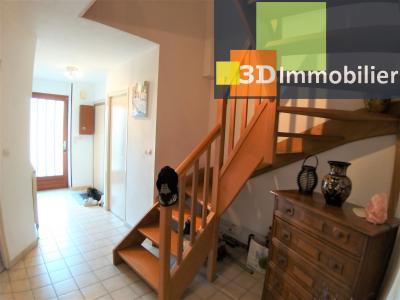 BEAUFORT (39 JURA), à vendre immeuble de 4 duplexes avec garages et extérieurs., HALL APPART 4