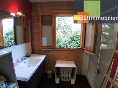 LONS-LE-SAUNIER (39 JURA), à vendre maison plain-pied, ossature bois, 3 chambres, terrain 1126 m².,