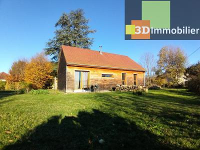 LONS-LE-SAUNIER (39 JURA), à vendre maison plain-pied, ossature bois, 3 chambres, terrain 1126 m²., EXTERIEUR