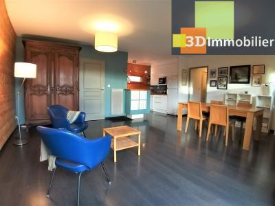 LONS-LE-SAUNIER (39 JURA), à vendre maison plain-pied, ossature bois, 3 chambres, terrain 1126 m²., SEJOUR