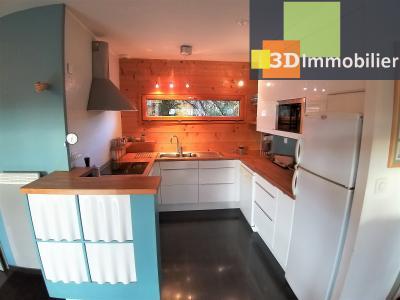 LONS-LE-SAUNIER (39 JURA), à vendre maison plain-pied, ossature bois, 3 chambres, terrain 1126 m²., CUISINE EQUIPEE